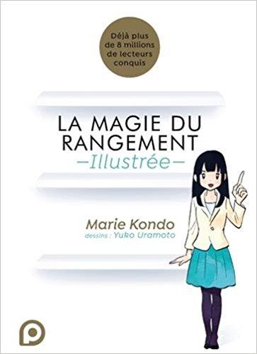 La magie du rangement illustrée : le manga !