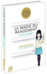 La magie du rangement illustrée, livre de Marie Kondo en bande dessinée