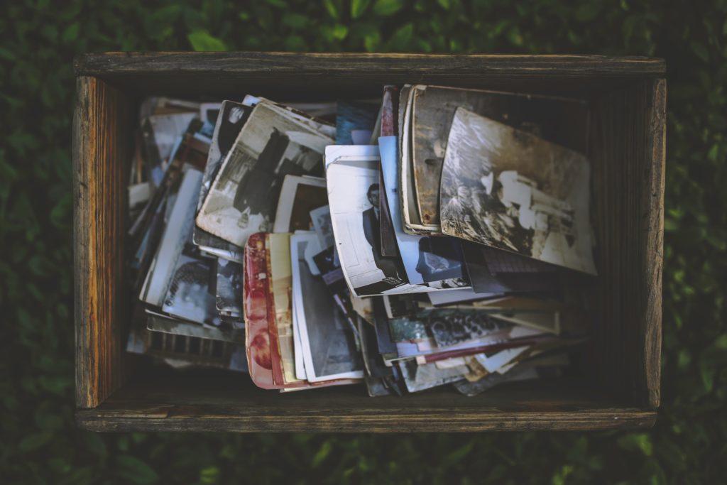 Des photos souvenirs à trier
