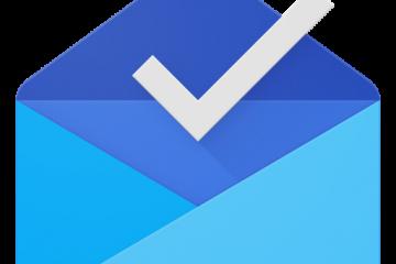 Un logo de boîte mail ouverte