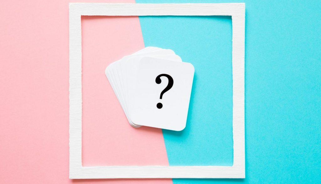 Un point d interrogation pour se demander quel objet ranger