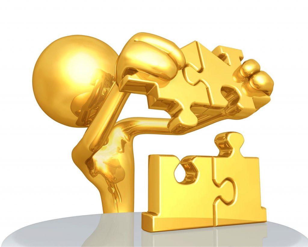 Un puzzle en or pour les radins qui amassent l'argent