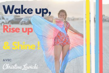 wake up rise up and shine le podcast de christine lewicki
